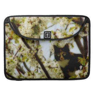 Blooming Cat MacBook Pro Sleeve