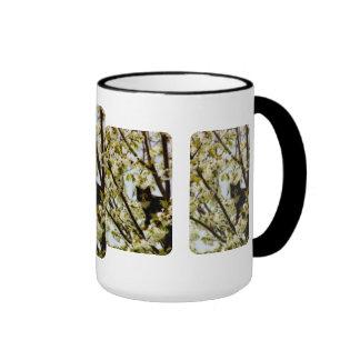 Blooming Cat Coffee Mugs