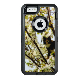 Blooming Cat OtterBox Defender iPhone Case