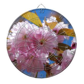 Blooming Cherry Blossoms Dartboards