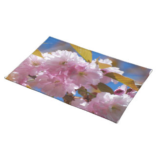 Blooming Cherry Blossoms Placemats