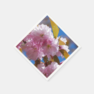 Blooming Cherry Blossoms Disposable Napkins