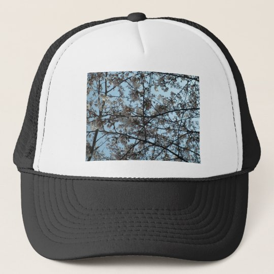 Blooming Cherry Blossoms Trucker Hat