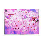 blooming cherry flowers in pink tones iPad mini cases