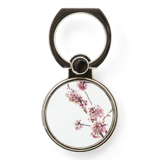 Blooming Cherry Tree Phone Ring Stand