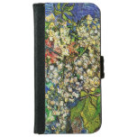 Blooming chestnut branches iPhone6 Wallet Case iPhone 6 Wallet Case