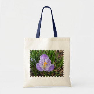 Blooming Crocus Tote Bag