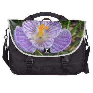 Blooming Crocus Laptop Bag
