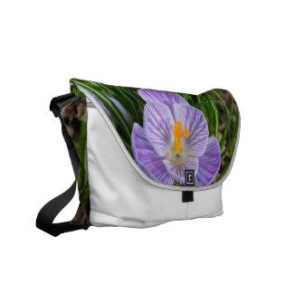 Blooming Crocus Courier Bags