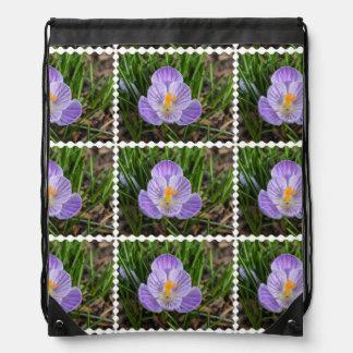 Blooming Crocus Backpacks