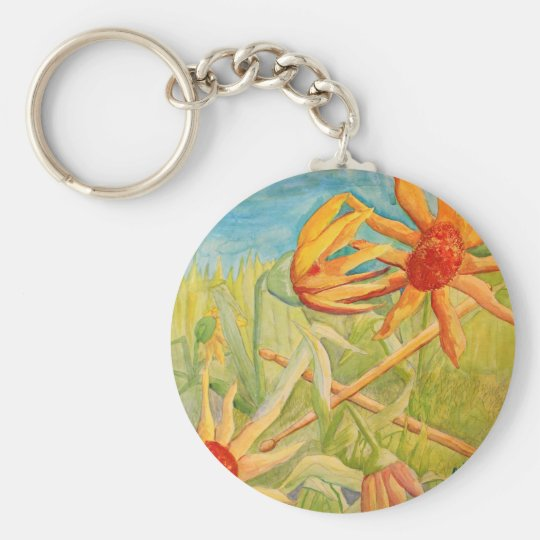 Blooming Drummers Keychain