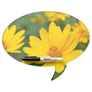Blooming False Sunflowers Dry-Erase Whiteboard