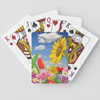 Blooming Flora Playing Cards