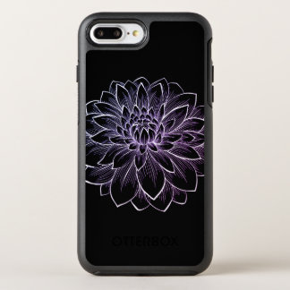 Blooming Flower Illustration OtterBox Symmetry iPhone 8 Plus/7 Plus Case