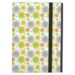 Blooming Flowers, Petals - Red Green Blue Yellow Cover For iPad Air