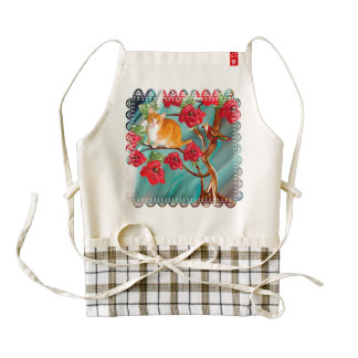 Blooming Friendship Tree Neighbors Apron