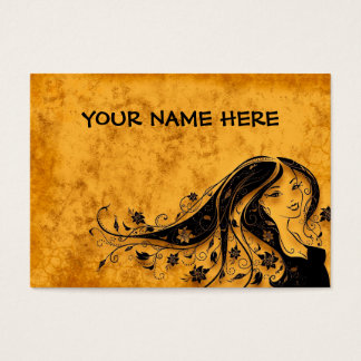 BLOOMING HAIR! (hairstylist) ~ Business Card