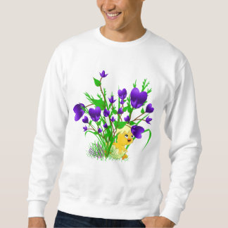 Blooming Hearts Easter Chick Shirt