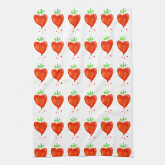 Blooming Hearts Kitchen Towel