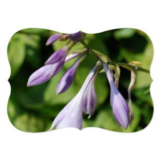 Blooming Hosta 5x7 Paper Invitation Card