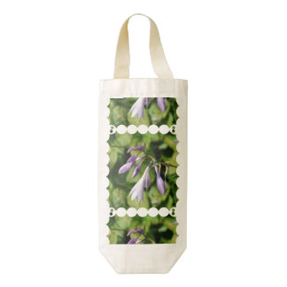 Blooming Hosta Zazzle HEART Wine Bag