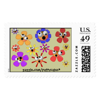 blooming idiots stamp