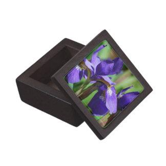 Blooming Iris Premium Keepsake Box