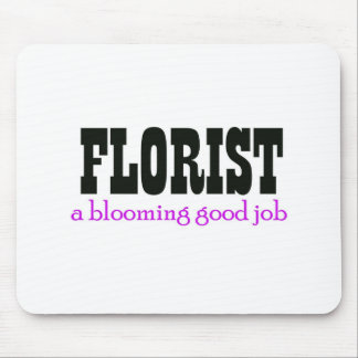 Blooming Job Mouse Pad