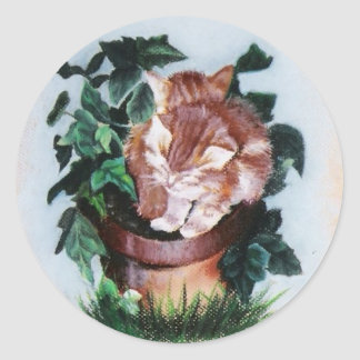 Blooming Kittens Sticker