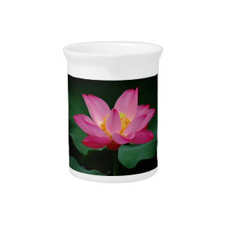 Blooming Lily Beverage Pitcher