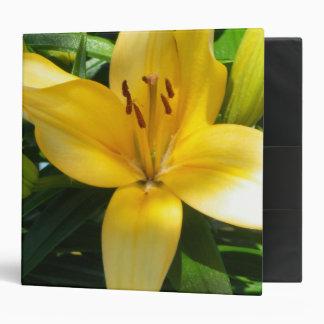 Blooming Lily Binder