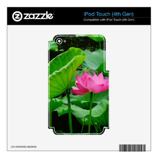Blooming Lily iPod Touch 4G Skins