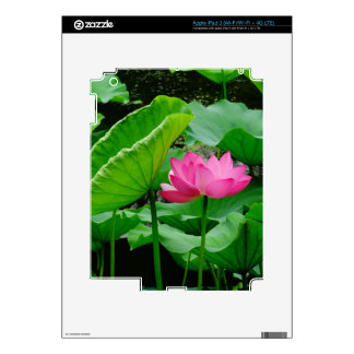 Blooming Lily Decals For iPad 3