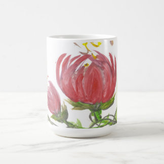 Blooming Lotus Cup Classic White Coffee Mug