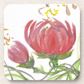 Blooming Lotus Flower Coasters
