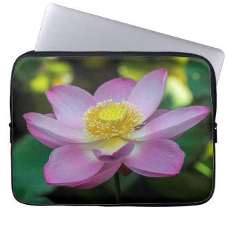 Blooming lotus flower, Indonesia Computer Sleeve