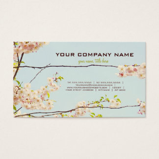 Blooming Nature Business Card