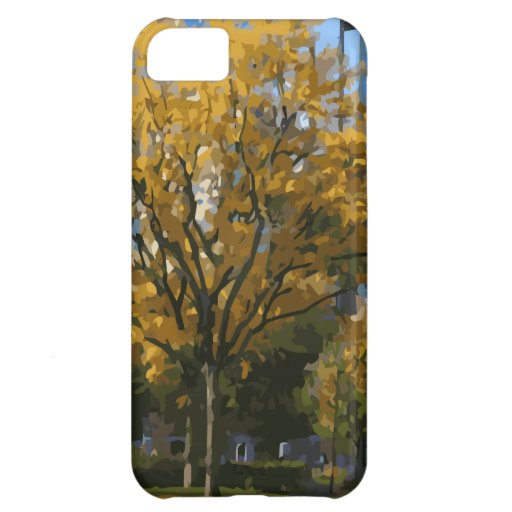 Blooming Oak Tree within a Boston city Park Case For iPhone 5C