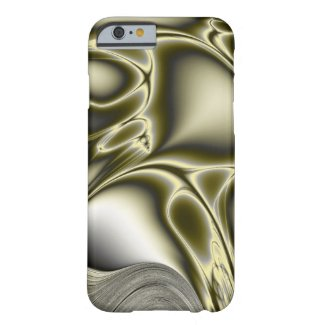 Blooming Olive Fractal Barely There iPhone 6 Case