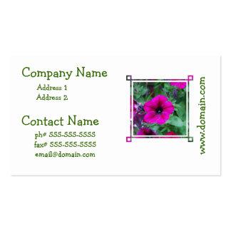 Blooming Petunia Business Card