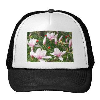 Blooming Pink Magnolia (Tulpenbaum) Trucker Hat