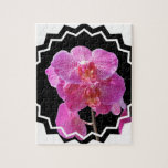 Blooming Pink Orchid Puzzle
