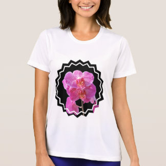 Blooming Pink Orchids Micro Fiber T-Shirt