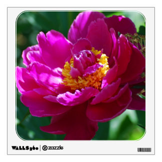 Blooming Pink Peony Wall Decals