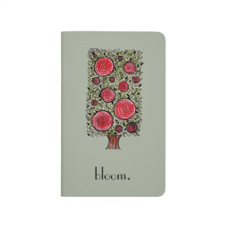 Blooming Pocket Journal (Blank Pages)