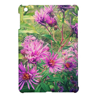 Blooming Purple Asters iPad Mini Cover