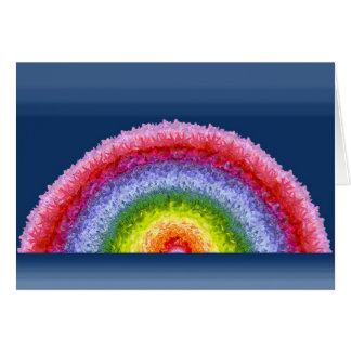 Blooming Rainbow greeting card