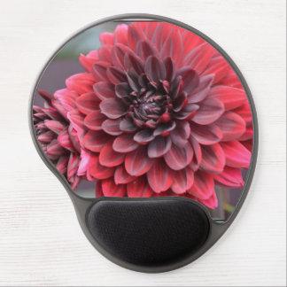 Blooming Red Dahlias Gel Mousepads