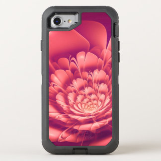 Blooming Red Flower OtterBox Defender iPhone 8/7 Case