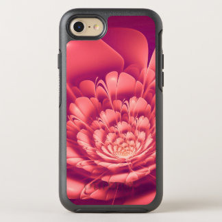 Blooming Red Flower OtterBox Symmetry iPhone 8/7 Case